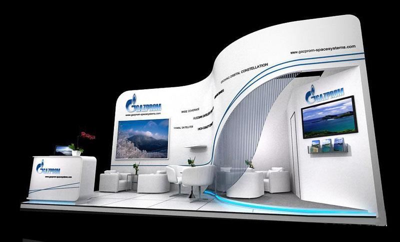 能源展 光伏展 节能环保展 展台设计模型 21平米 三面开